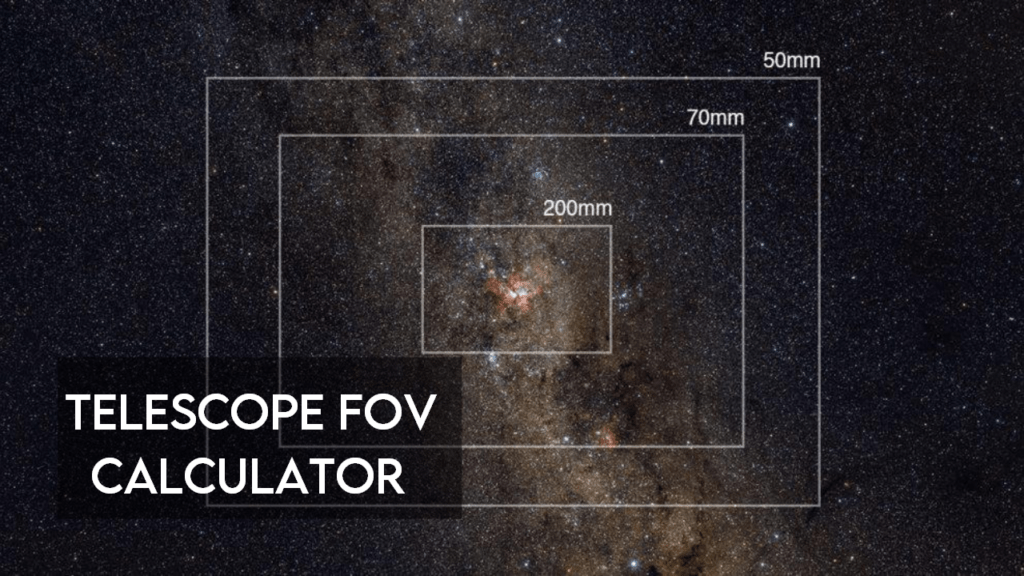 Telescope FOV calculator