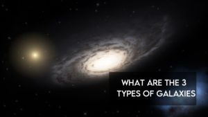 what are the 3 types of galaxies