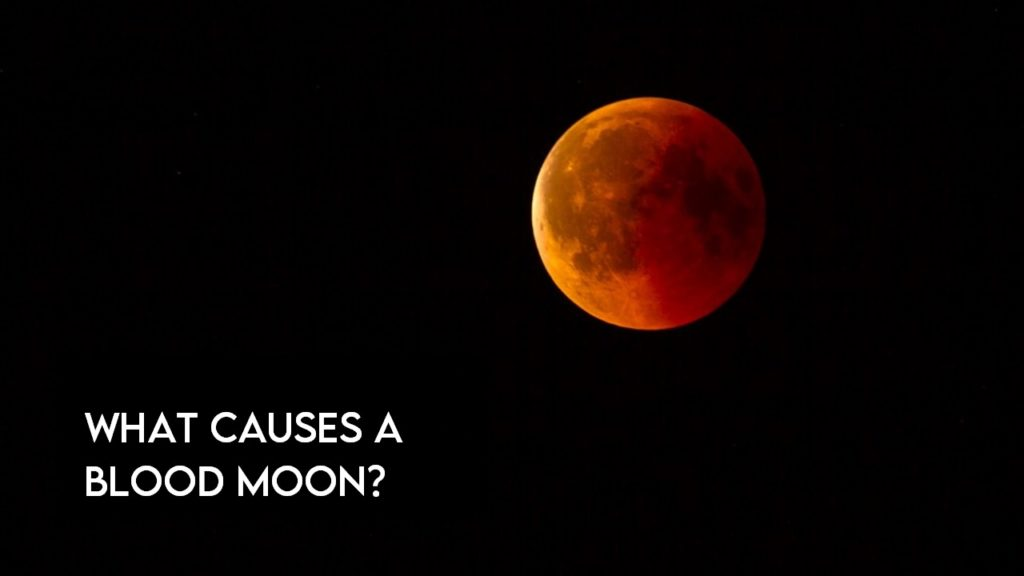 What causes a blood moon