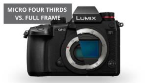 micro four thirds vs full frame